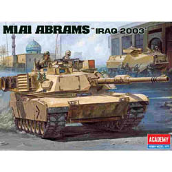 Academy Models M-1A1 ABRAMS IRAQ 2003 1:35   , LIST PRICE $45