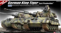 "Academy Models 1/35 German King Tiger ""Last Production, LIST PRICE $69"
