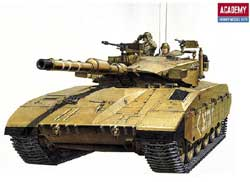 Academy Models MERKAVA Mk-III 1:35 Old # 1391, LIST PRICE $39