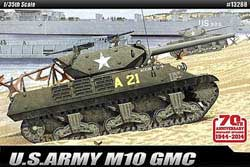Academy Models M10 GMC 70th Anniv NORMANDY:35, LIST PRICE $56