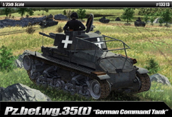 Academy Models German Pz Command Pz.Kpfw 1:35, LIST PRICE $39