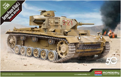 Academy Models 1:35 German Panzer III Ausf. J �North Africa, LIST PRICE $54