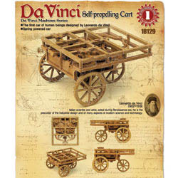 Academy Models Leonardo da Vinci Self-prop Cart, LIST PRICE $21.98
