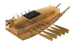 "Academy Models Solar Powered Turtle Boat, 8.5"" Long, LIST PRICE $34.98"