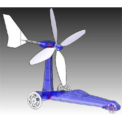Academy Models Wind Power Car, Education, LIST PRICE $21.98