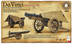 Academy Models DaVinci Spingarde, New Tool, LIST PRICE $22.5
