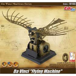 Academy Models DaVinci Flying Machine, LIST PRICE $20