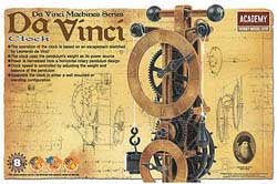 Academy Models da Vinci Clock, LIST PRICE $23.5