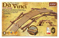 Academy Models Da Vinci Arch Bridge, LIST PRICE $22.5