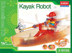 Academy Models Kayak Robot, LIST PRICE $24.5