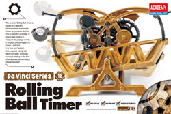 Academy Models Da Vinci Rolling Ball Timer, LIST PRICE $22.98