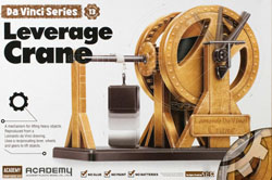 Academy Models Da Vinci Leverage Crane, LIST PRICE $22.98