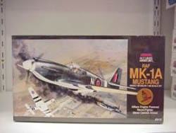 Accurate Minatures MK-1A RAF MUSTANG 1:48        , LIST PRICE $34.98