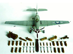 Accurate Minatures WWII Allied Armament 1:48, LIST PRICE $24.98