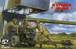 AFV Club British Mk.4 6pdr Anti Tank Gun 1:35, LIST PRICE $45
