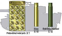 AFV Club 8.8mm L/56 SHELL 1:35         , LIST PRICE $17.5