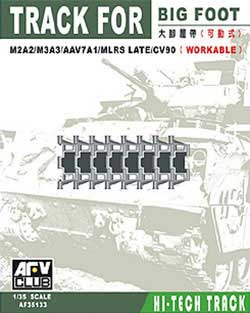 AFV Club BIG FOOT TRACK for M2A2/M3A3  , LIST PRICE $22.5
