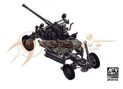 AFV Club Bofors 40Mm Aa Gun 1:35, LIST PRICE $48.98