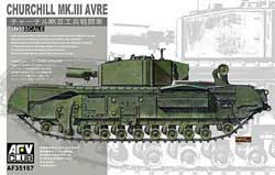 AFV Club CHURCHILL Mk.II AVRE 1:35, LIST PRICE $55.98