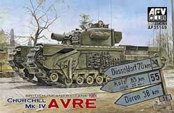 AFV Club British Churchill Mk.Iv 1:35, LIST PRICE $65