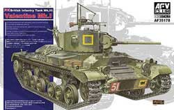 AFV Club British Mk.Iii Valentine 1:35, LIST PRICE $58