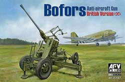 AFV Club Bofors Anti-Aircraft Gun 1:35, LIST PRICE $50