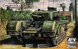 AFV Club Bit Churchill Mk.Vi 1:35, LIST PRICE $59.5