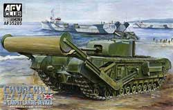 AFV Club CHURCHILL Mk.IV TLC 1:35, LIST PRICE $72.85