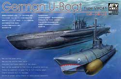 AFV Club U-BOAT TYPE VII/C41 1:350     , LIST PRICE $26.98