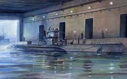 AFV Club U-BOAT TYPE VII/D U-213 1:350 , LIST PRICE $27