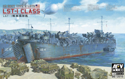 AFV Club US Navy Type 2 LSTS 1:350, LIST PRICE $83.25