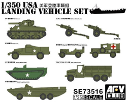 AFV Club US WWII Landing Vehicles :350, LIST PRICE $23.5