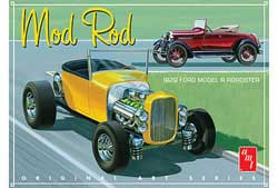 AMT 1929 Ford Model A Roadster OAS Mod Rod, LIST PRICE $37.39