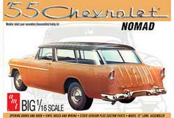 AMT 1955 Chevrolet Nomad 1/16, LIST PRICE $46.99