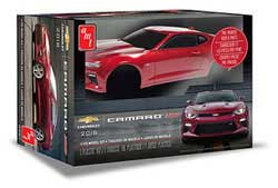 AMT 2016 CHEVY CAMARO SS PRE-PAINTED, LIST PRICE $41.29