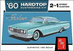 AMT 1960 1960 Ford Starliner Hardtop Custom 2in1, LIST PRICE $34.39