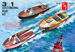 AMT Customizing Boat 3 in 1, LIST PRICE $26.99