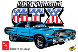 AMT Dirty Donny 1969 Plymouth GTX, LIST PRICE $28.69