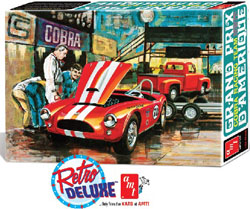 AMT 1/25 Shelby Cobra & 1953 Ford Pickup/Trailer, Cobra, LIST PRICE $65.29