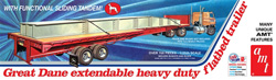 AMT 1/25 Flatbed Trailer Great Dane, LIST PRICE $31.99