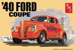 AMT 1940 Ford Coupe 2T, LIST PRICE $26.99