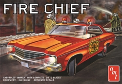AMT 1:25 70 CHEVY IMPALA FIRE , DUE 11/30/2019, LIST PRICE $29.99