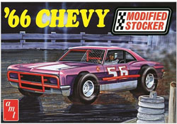 AMT 1:25 1966 Chevy Impala Modified Stocker , DUE 3/30/2020, LIST PRICE $31.99