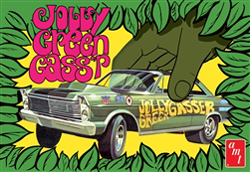 """AMT 1:25 1965 Ford Galaxie """"Jolly Green Gasser"""" , DUE 8/30/2020, LIST PRICE $29.99"""
