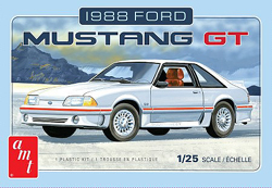 AMT 1/25 1988 Ford Mustang, LIST PRICE $33.75