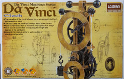 AMT Academy Da Vinci Series Clock, LIST PRICE $22.98
