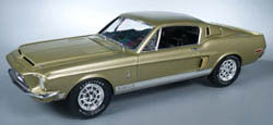AMT 1/24 '68 Shelby GT500, LIST PRICE $18.69