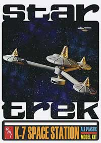 AMT STAR TREK K-7 SPACE STAT Tin, LIST PRICE $49.99