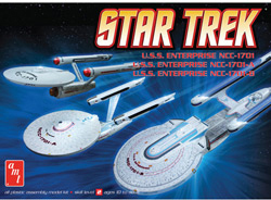 AMT STAR TREK 3pc Set             , LIST PRICE $18.75