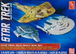 AMT STAR TREK DEEP SPACE 9, LIST PRICE $24.09